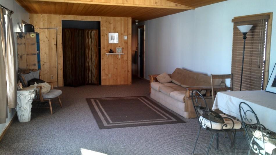 cowboy living room. WEBSITE  Cowboy Casita The Spur Ranch